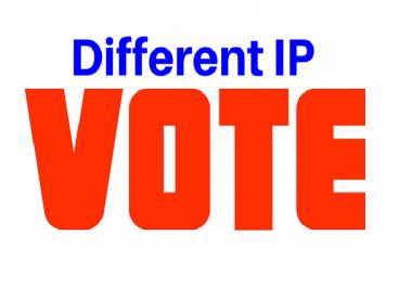 I'll Give150 Unique IP votes