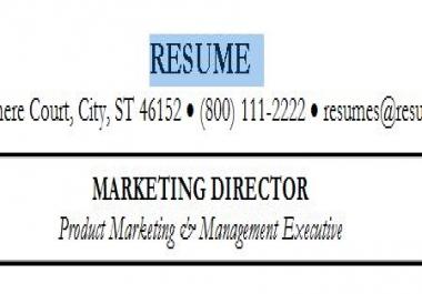critique your resume