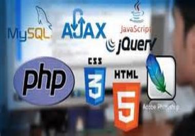 fix any wordpress,html,css  errors  quickly