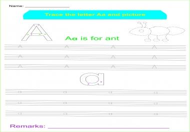 make hand writing practice worksheet