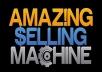 give you complete course of Matt Clark, Jason Katzenback - Amazing Selling Machine 8