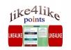 give you 10,500 like4like points