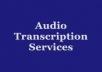 transcribe a 10 min audio