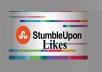 Provide 100 USA StumbleUpon Likes Real and permanent High Quality