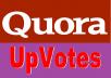 Get you 80 Worldwide Quora UpVotes