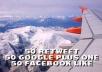 give your website 50 Retweet Plus 50 Google plus one Plus 50 Facebook Like Organic Votes