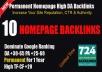 Provide 10 Quality PBN Backlinks On High DA-PA=25-65 Domains