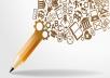 write blog, article