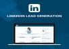 do linkedin lead generation on targeted niche