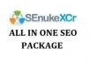 run Senuke xCR to produce you a whole beat one seo service