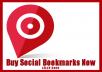 create 22 only high pr Social bookmarking backlinks using whitehat method