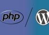fix any PHP or WordPress error