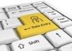 do data entry work