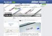 design an eye popping facebook cover & twitter header