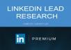 do lead generate through linkedin
