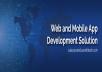 Website Development, Graphic Designing, Mobile Application