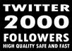 add permanent TWITTER follower