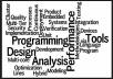 do programing, web development, software development and networking