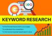 Do SEO Keyword Research In Depth