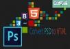 convert psd to html responsive