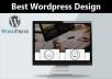 Create Responsive Wordpress Website For You